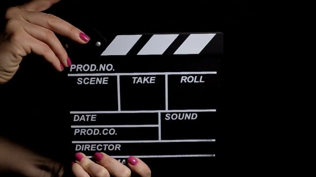 stockvideo's en b-roll-footage met and... actie!! filmindustrie, b-roll - actrice