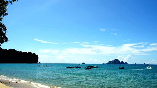 vídeos de stock e filmes b-roll de andaman beach,beach thailand - ecoturismo