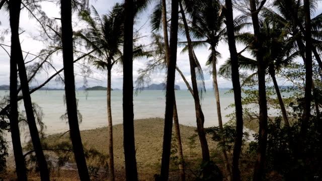 andaman sea. phang nga bay, phuket, thailand - malacca stock videos and b-roll footage