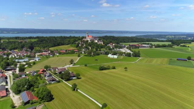 Andechs Monasterey y lago Ammersee en Baviera