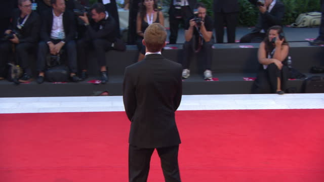 anders danielsen lie at '22 july' red carpet arrivals 75th venice film festival on september 5 2018 in venice italy - film festival stock videos & royalty-free footage