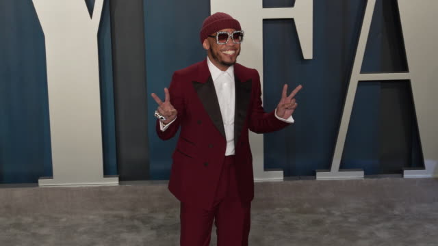 anderson .paak at 2020 vanity fair oscar party hosted by radhika jones at wallis annenberg center for the performing arts on february 09, 2020 in... - oscar party stock videos & royalty-free footage
