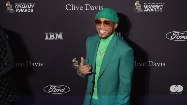 anderson .paak at the recording academy and clive davis' 2020 pre-grammy gala at the beverly hilton hotel on january 25, 2020 in beverly hills,... - clive anderson stock videos & royalty-free footage
