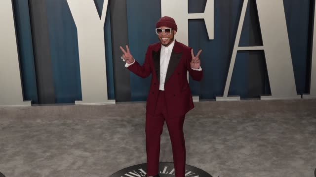 vídeos de stock, filmes e b-roll de anderson paak at vanity fair oscar party at wallis annenberg center for the performing arts on february 9 2020 in beverly hills california - vanity fair