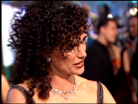 andie macdowell at the 1998 golden globe awards at the beverly hilton in beverly hills, california on january 18, 1998. - andie macdowell stock videos & royalty-free footage