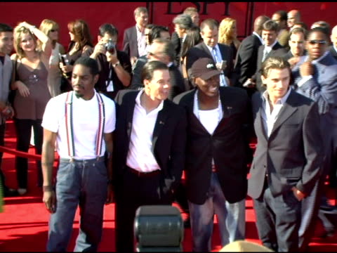 andre 3000 mark wahlberg tyrese and garrett hedlund at the 13th annual espy awards arrivals at the kodak theatre in hollywood california on july 13... - tyrese stock videos & royalty-free footage