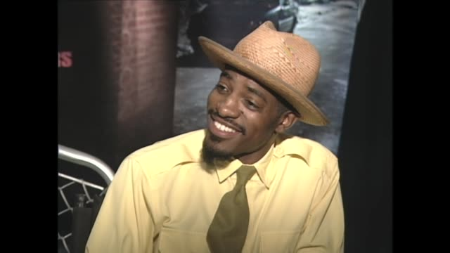 stockvideo's en b-roll-footage met andre 3000 on esquire magzine naming him best dressed man - publiciteitsmedewerker
