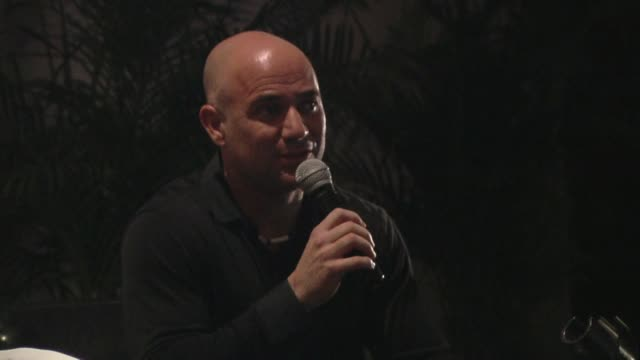 Andre Agassi at the Andre Agassi Kicks Off The 36th Annual Tourism 'Tianguis' at Acapulco