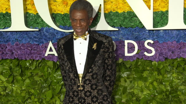 andre de shields at the 73rd annual tony awards arrivals at radio city music hall on june 09 2019 in new york city - annual tony awards stock videos & royalty-free footage