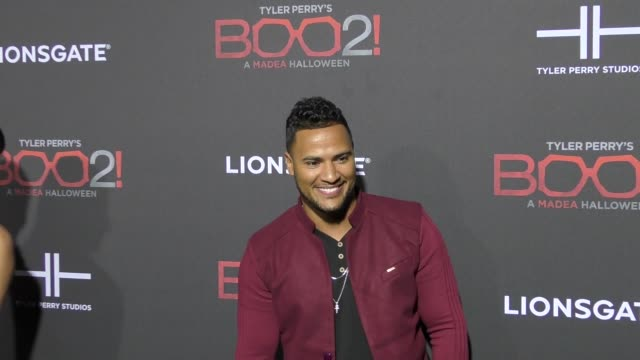 Andre Hall at Lionsgate Presents The Los Angeles Premiere of Tyler Perry's 'Boo 2 A Madea Halloween' at LA LIVE on October 16 2017 in Los Angeles...