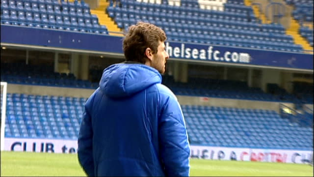andre villas-boas sacked as chelsea manager; r19121101 stamford bridge: villas-boas on pitch at chelsea training session john terry onto pitch and... - itv london tonight weekend stock videos & royalty-free footage