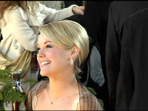 andrea anders at the 2005 people's choice awards arrivals at the pasadena civic auditorium in pasadena california on january 10 2005 - andrea anders stock videos and b-roll footage
