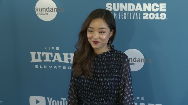 andrea bang at 'luce' premiere 2019 sundance film festival at library center theater on january 27 2019 in park city utah - luce stock videos & royalty-free footage