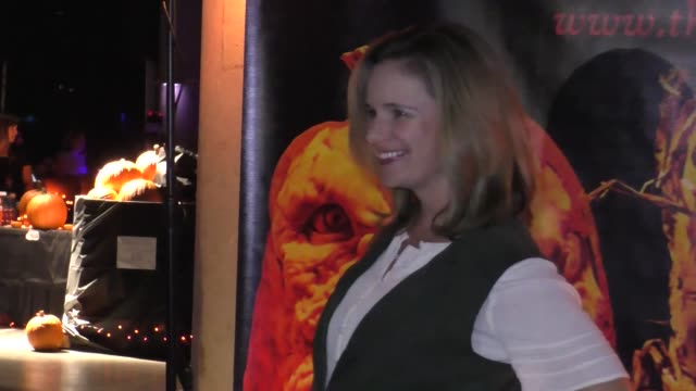 Andrea Barber at the Rise Of The Jack O'Lanterns at Los Angeles Convention Center in Los Angeles