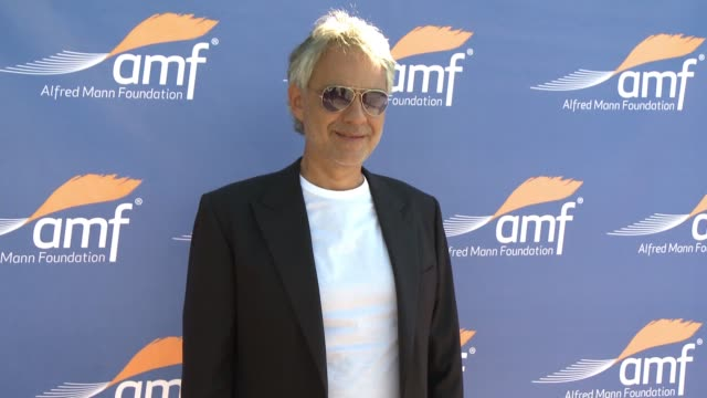 Andrea Bocelli at Alfred Mann Foundation's An Evening Under the Stars with Andrea Bocelli in Los Angeles CA