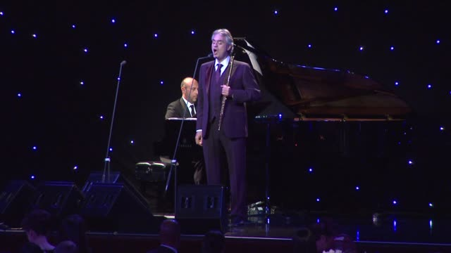 Andrea Bocelli at Andrea Bocelli Foundation's 2011 Benefit Gala on 12/9/2011 in Beverly Hills CA