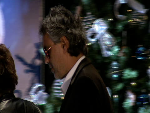 Andrea Bocelli at the A Christmas Carol Press Conference at London England