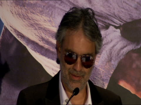 Andrea Bocelli on what Christmas means to him at the A Christmas Carol Press Conference at London England