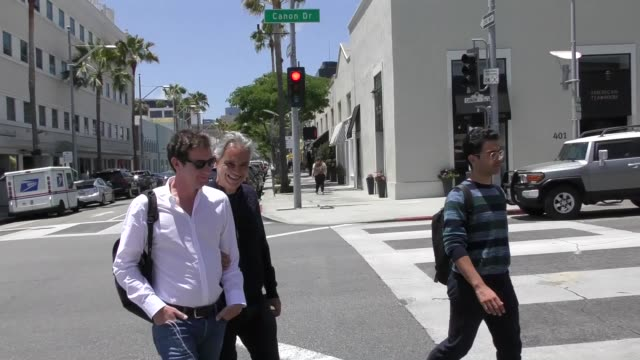 Andrea Bocelli shopping in Beverly Hills in Celebrity Sightings in Los Angeles