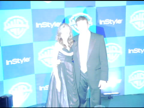 Andrea Bowen and guest at the InStyle/Warner Brothers Golden Globes Party at the Beverly Hilton in Beverly Hills California on January 16 2006