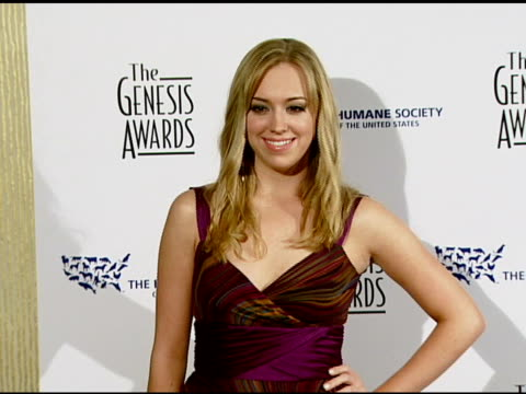 Andrea Bowen at the 2008 Genesis Awards at the Beverly Hilton in Beverly Hills California on March 30 2008