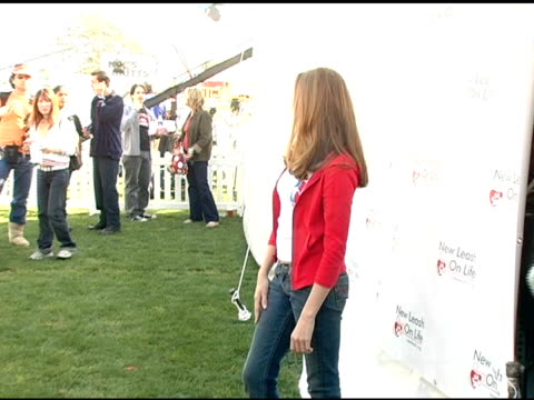 Andrea Bowen at the 4th Annual Nuts For Mutts Event at Pierce College in Woodland Hills California on April 3 2005