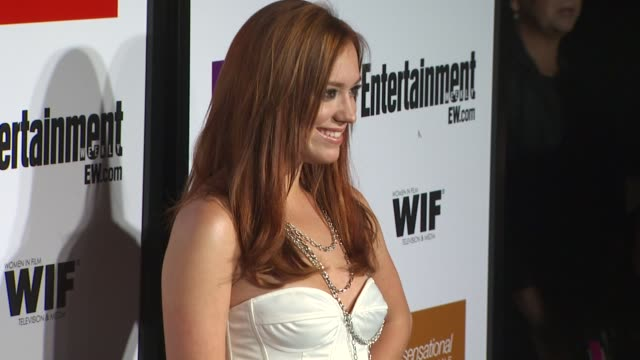 andrea bowen at the entertainment weekly - women in film pre-emmy party at west hollywood ca. - pre emmy party stock videos & royalty-free footage