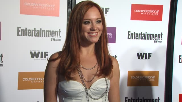 andrea bowen at the entertainment weekly women in film preemmy party at west hollywood ca - entertainment weekly stock-videos und b-roll-filmmaterial