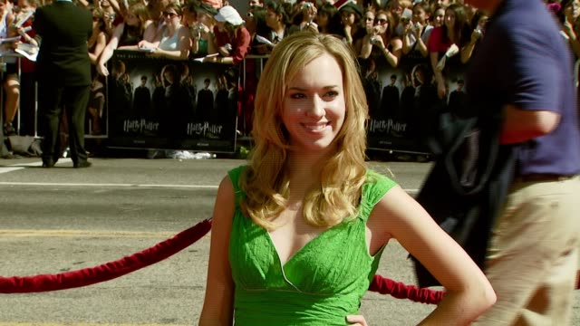 Andrea Bowen at the 'Harry Potter and the Order of the Phoenix' US Premiere at Grauman's Chinese Theatre in Hollywood California on July 8 2007
