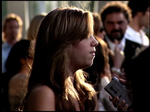 vídeos y material grabado en eventos de stock de andrea bowen at the 'must love dogs' premiere at the cinerama dome at arclight cinemas in hollywood, california on july 21, 2005. - arclight cinemas hollywood