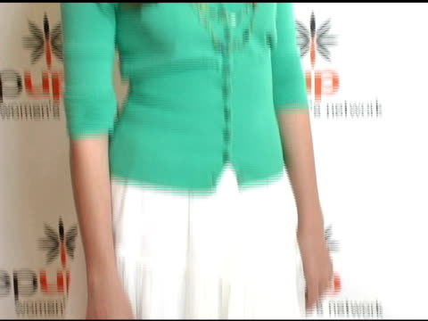 stockvideo's en b-roll-footage met andrea bowen at the step up women's network inspiration awards luncheon at the beverly hilton in beverly hills california on april 22 2005 - women's image network awards