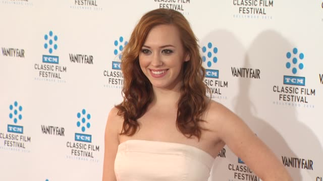 Andrea Bowen at the TCM Classic Film Festival Opening Night Screening Of 'A Star Is Born' at Hollywood CA