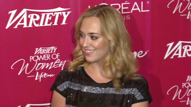Andrea Bowen at the Variety's 3rd Annual 'Power of Women' Luncheon at Beverly Hills CA