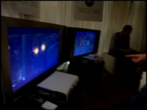 Andrea Bowen at the XBox 360 at the Extra Emmy Lounge at the Le Merridien Hotel in Beverly Hills California on September 15 2005