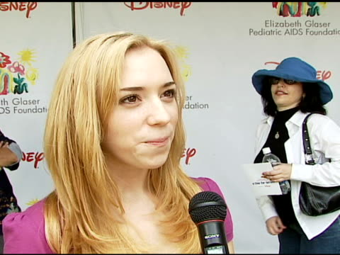 Andrea Bowen on being at the event on how and why she got involved with and supports the Foundation what makes the 'Time For Heroes' carnival special...