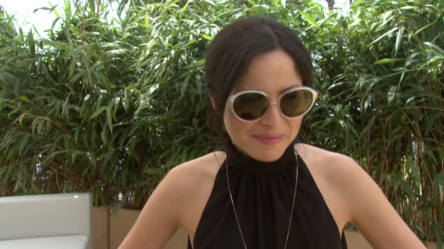 andrea corr on the idea of the album her approach to the album at andrea corr interview 64th cannes film festival at may 12 2011 in cannes france - album title stock videos and b-roll footage