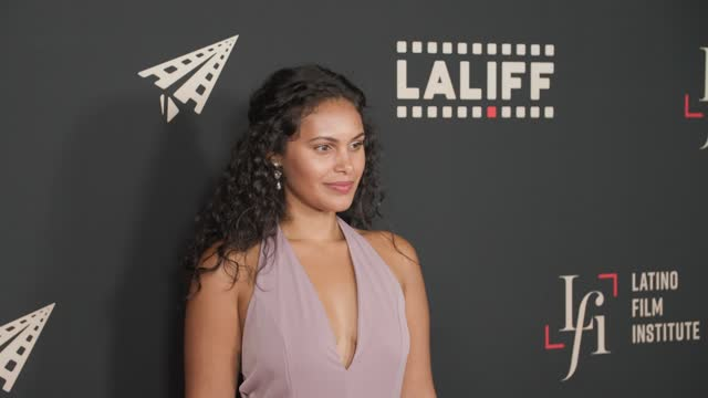 """andrea cortes at the laliff closing night """"women is losers,"""" red carpet capture produced by cindy maram, dig in magazine/in close entertainment at... - tcl chinese theatre stock videos & royalty-free footage"""