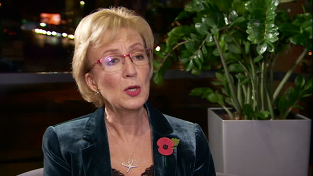 "andrea leadsom saying fracking in the uk is ""very attractive"" but can only be done with re-assurance it can be done safely - beautiful people stock videos & royalty-free footage"