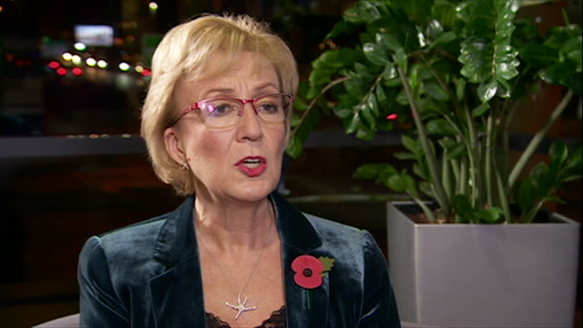 andrea leadsom saying the government will follow the science when it comes to potentially approving future fracking sites - permission concept stock videos & royalty-free footage