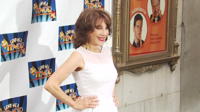 andrea martin at the opening of 'lend me a tenor' arrivals at new york ny - lend me a tenor stock-videos und b-roll-filmmaterial