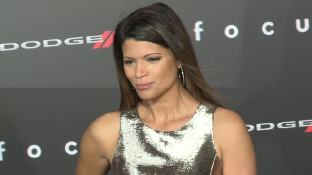 "stockvideo's en b-roll-footage met andrea navedo at the ""focus"" los angeles premiere at tcl chinese theatre on february 24, 2015 in hollywood, california. - tcl chinese theatre"