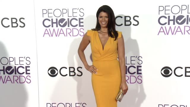 andrea navedo at the people's choice awards 2017 at microsoft theater on january 18, 2017 in los angeles, california. - people's choice awards stock videos & royalty-free footage