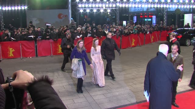 Andrea Riseborough at Shadow Dancer Premiere 62nd International Film Festival 2012 at on February 12 2012 in Berlin Germany