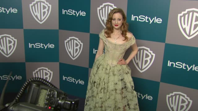 andrea riseborough at the 13th annual warner bros and instyle golden globe afterparty in beverly hills ca on 1/15/12 - warner bros stock videos & royalty-free footage