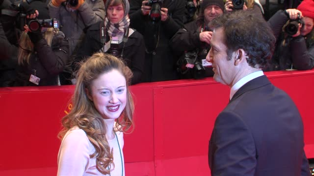 Andrea Riseborough Clive Owe James Marsh n at Shadow Dancer Premiere 62nd International Film Festival 2012 at on February 12 2012 in Berlin Germany