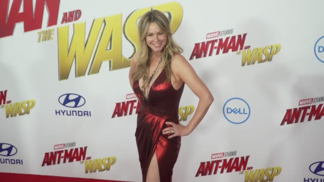Andrea Roth at the 'AntMan and the Wasp' World Premiere at the El Capitan Theatre on June 25 2018 in Hollywood California