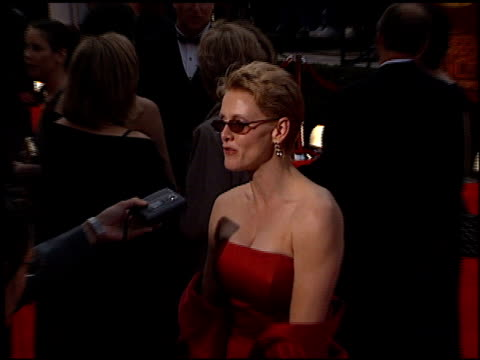 andrea thompson at the 2000 screen actors guild sag awards arrivals at the shrine auditorium in los angeles california on march 12 2000 - andrea thompson stock videos & royalty-free footage