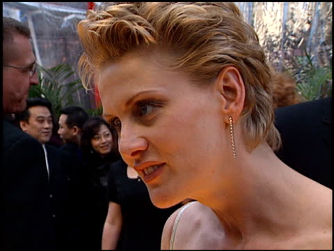 andrea thompson at the tv guide awards at fox studios in los angeles california on march 5 2000 - andrea thompson stock videos & royalty-free footage