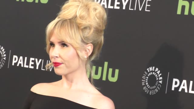 andree vermeulen at the paleylive an evening with angie tribeca at paley center for media in beverly hills in celebrity sightings in los angeles, - paley center for media los angeles stock videos & royalty-free footage