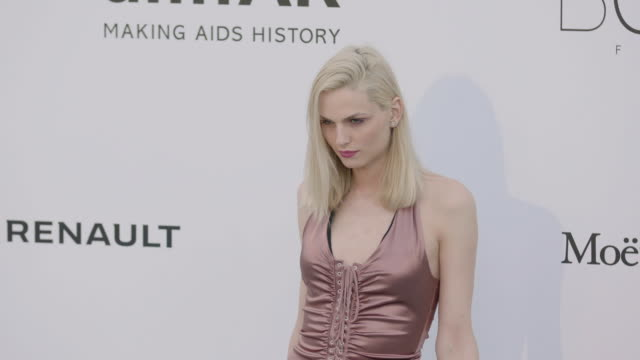Andreja Pejic at amfAR Gala Cannes 2017 at Hotel du CapEdenRoc on May 25 2017 in Cap d'Antibes France